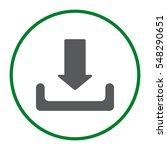 download icon vector flat...   Shutterstock .eps vector #548290651