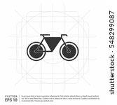 cycling icon vector.