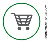 cart icon vector flat design... | Shutterstock .eps vector #548310994