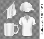 promotional items  vector set... | Shutterstock .eps vector #548313811