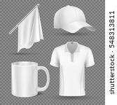 promotional items  vector set... | Shutterstock .eps vector #548313811