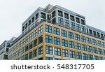 low angle architectural... | Shutterstock . vector #548317705