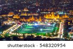 grand palace and wat phra keaw... | Shutterstock . vector #548320954