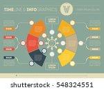 vector infographic of... | Shutterstock .eps vector #548324551