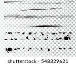 grunge paint stripe . vector... | Shutterstock .eps vector #548329621
