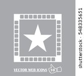 star isolated flat web mobile...