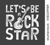 rock music guitar typography ... | Shutterstock .eps vector #548339989