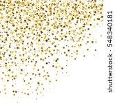 gold glitter texture isolated... | Shutterstock .eps vector #548340181