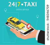 online mobile taxi order...
