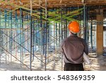 project architects and... | Shutterstock . vector #548369359