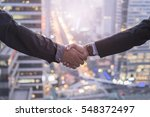business collaboration ... | Shutterstock . vector #548372497