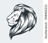 Lions Head Vector Illustration...