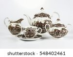 Luxury Porcelain Set Of Coffee...