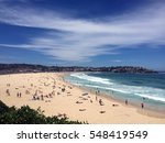 best australian beach. white... | Shutterstock . vector #548419549