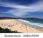 best australian beach. white... | Shutterstock . vector #548419549