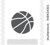 basketball icon | Shutterstock .eps vector #548424301