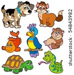 Pet Cartoons Collection  ...