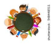 back to school | Shutterstock .eps vector #548448511