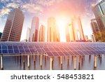 solar energy   Shutterstock . vector #548453821
