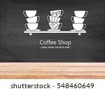 coffee restaurant brochure.... | Shutterstock . vector #548460649