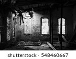 Empty Building At An Abandoned...