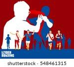 ekiden marathon was born in... | Shutterstock .eps vector #548461315
