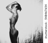 fashion art studio photo of... | Shutterstock . vector #548467654