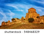 Scenic View Of Jvari Monastery...
