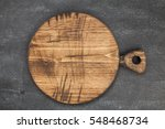 cutting board on a wooden table ... | Shutterstock . vector #548468734
