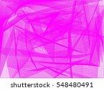 vector pink wave abstract... | Shutterstock .eps vector #548480491