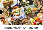 collage from different pictures ... | Shutterstock . vector #548489485