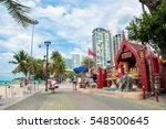 pattaya  thailand   january 17  ... | Shutterstock . vector #548500645