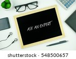top view of modern office... | Shutterstock . vector #548500657