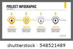 four points timeline slide... | Shutterstock .eps vector #548521489