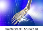 digital illustration of  brain...   Shutterstock . vector #54852643