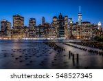 A View Of Downtown Manhattan...