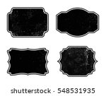 grunge labels and frames.vector ... | Shutterstock .eps vector #548531935