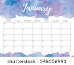 elegant watercolor bright print ... | Shutterstock . vector #548556991