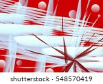 abstract unusual geometrical... | Shutterstock .eps vector #548570419