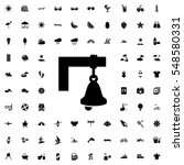 bell icon illustration isolated ... | Shutterstock .eps vector #548580331