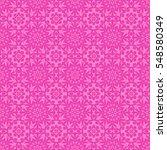 pink ornamental seamless line... | Shutterstock . vector #548580349