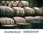 Whisky Barrels Full Of Whiskey...