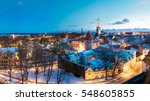 tallinn  estonia. panorama of...