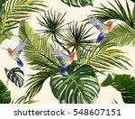 beautiful seamless vector... | Shutterstock .eps vector #548607151