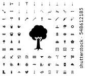 tree icon illustration isolated ... | Shutterstock .eps vector #548612185