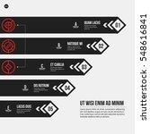 monochrome vector chart...   Shutterstock .eps vector #548616841