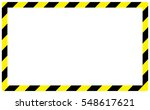 border yellow and black color. | Shutterstock .eps vector #548617621