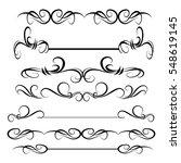 decorative monograms and...