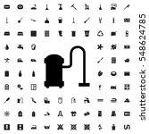 vacuum cleaner icon...   Shutterstock .eps vector #548624785