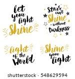christian lettering set   let... | Shutterstock .eps vector #548629594